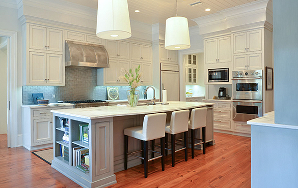 A custom kitchen design